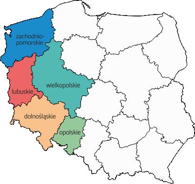 Region zachód